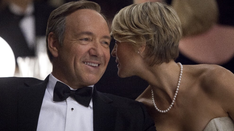 Frank e Claire Underwood, diabolica coppia di House of Cards