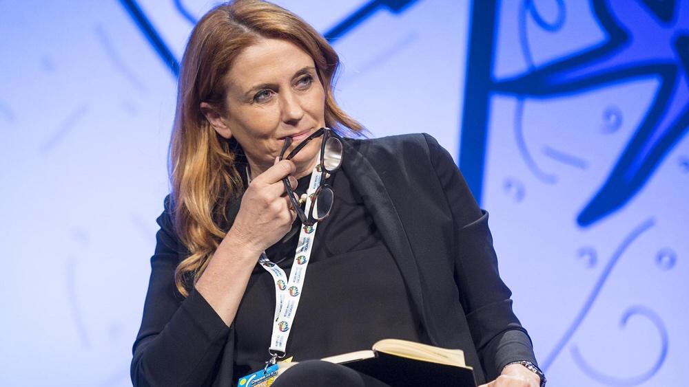 Monica Maggioni, presidente della Rai