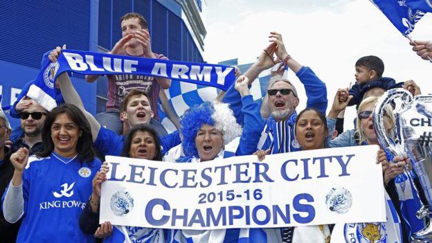 La città in festa per la prima conquista della Premier League