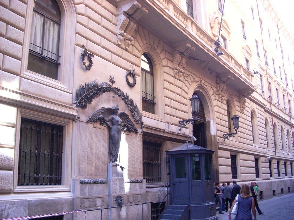 Palazzo San Macuto, sede della Commissione di Vigilanza