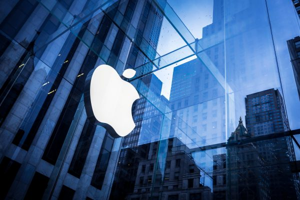 Il simbolo della Apple, recentemente multata dalla Ue