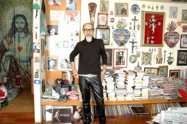Roberto d'Agostino nella sua casa: «Dago in the Sky» nasce in queste stanze a costi bassissimi