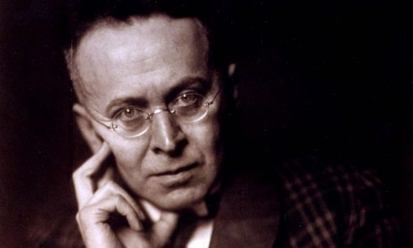 Karl Kraus, autore di «Detti e contraddetti», libro di culto di Roberto D'Agostino