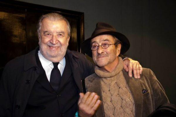 Pupi Avati con Lucio Dalla, grandi amici e compagni di jazz e di fede