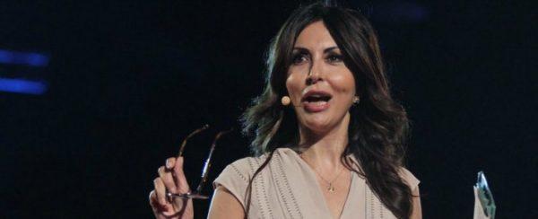Sabrina Ferilli, tra i protagonisti della serata del «Fatto quotidiano» intitolata La Costituzione è NOstra