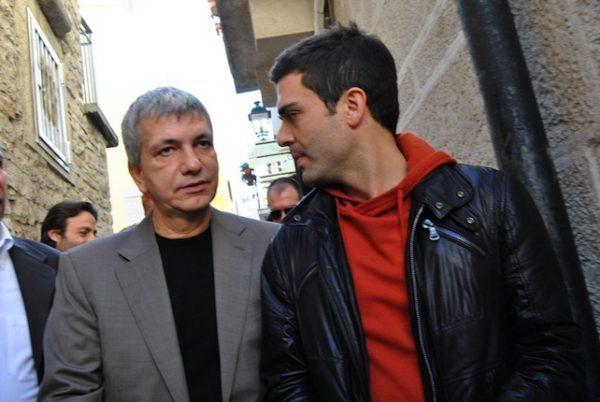 Nichi Vendola con il suo compagno Eddy Testa