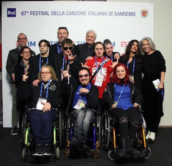 I Ladri di carrozzelle con Paola Severini a Sanremo