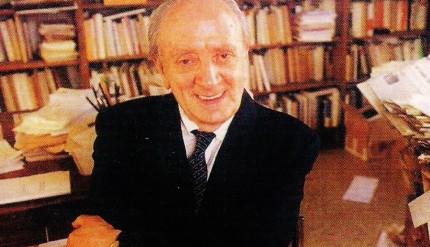 Il filosofo Augusto Del Noce