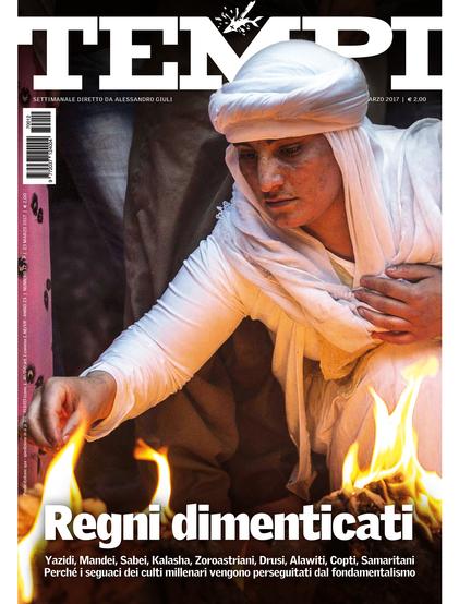 La copertina dell'ultimo numero di Tempi