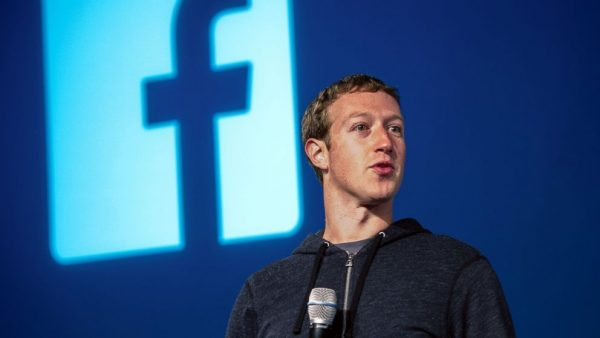 Il fondatore di Facebook, Mark Zuckerberg