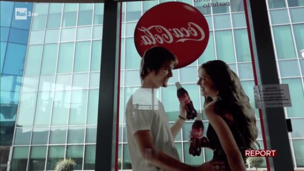 Informazione pubblicitaria della Coca Cola