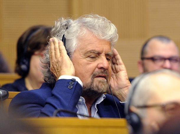 Beppe Grillo, oltre la dicotomia destra/sinistra (LaPresse)
