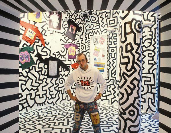 Keith Haring. Bertolucci ama l'arte contemporanea