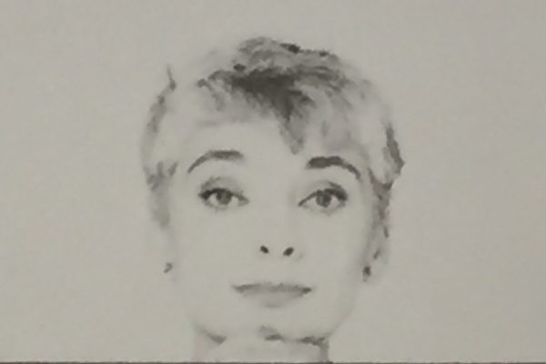 Edgarda Ferri in uno scatto di Giuseppe Pino