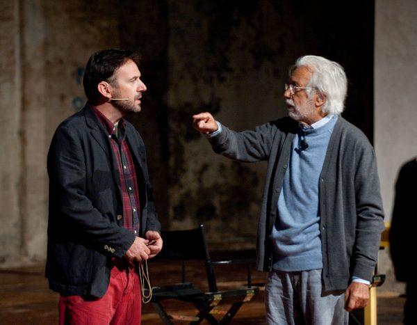 Paolo Pierobon con Luca Ronconi al Festival di Spoleto