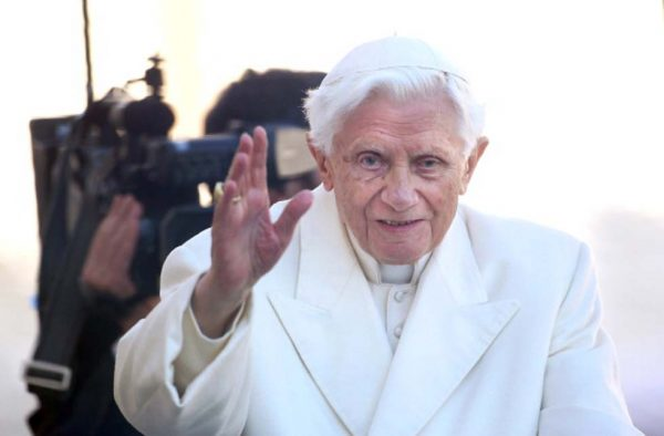 Il papa emerito Benedetto XVI (Franco Origlia/Getty Images)
