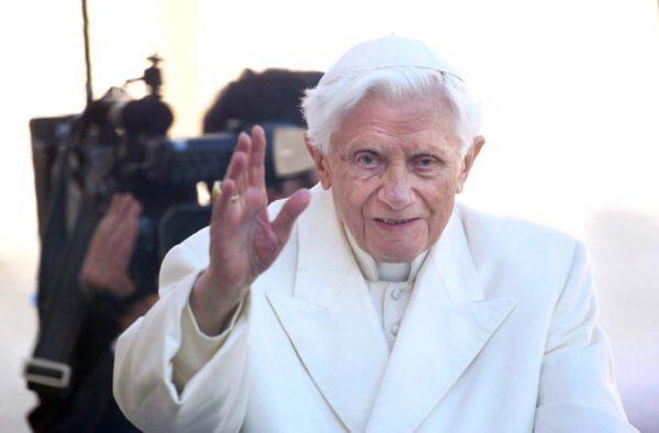 Il papa emerito Benedetto XVI (Franco Origlia/Getty Images)