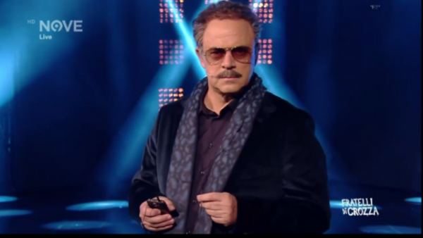 Maurizio Crozza nella parodia di Beppe Caschetto