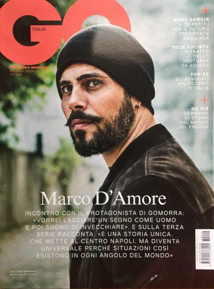 La copertina del numero di novembre di GQ Italia