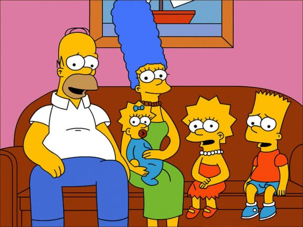 I Simpson. Falcinelli ha provato a spiegare quanto studio ci sia dietro la scelta di un colore
