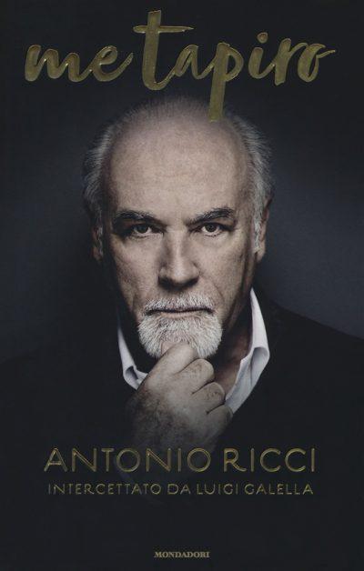 La copertina del libro di Antonio Ricci con la foto di Giovanni Gastel