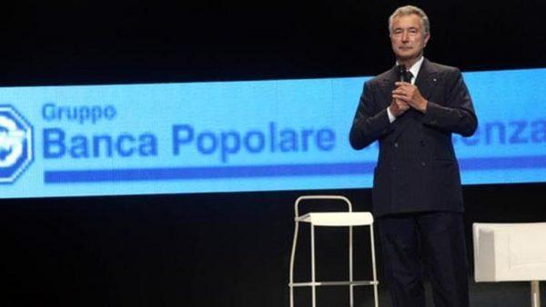 Gianni Zonin, patron di Banca Popolare di Vicenza
