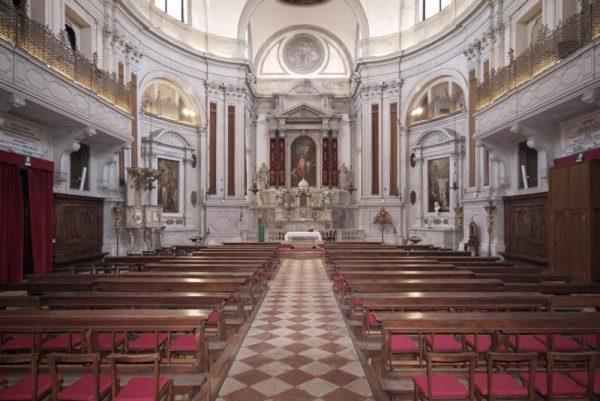 La Chiesa della Pietà a Venezia, vicino all'ex orfanotrofio poi divenuto ospedale