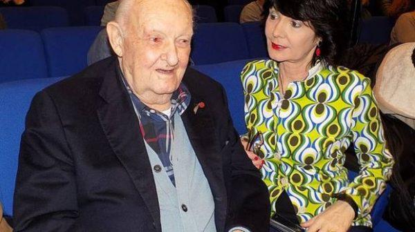 Giuseppe Sgarbi con la figlia Elisabetta