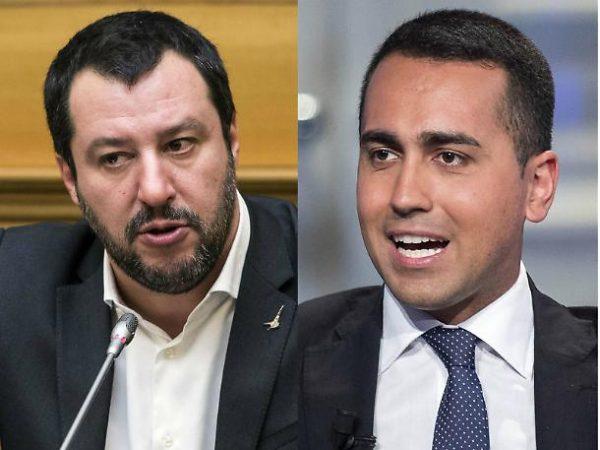 Matteo Salvini e Luigi Di Maio stanno trattando l'alleanza