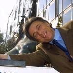"""©MARCO MERLINI /LAPRESSE 05-02-2002 ROMA INTERNI RAI VIALE MAZZINI - TAVOLA ROTONDA """"LA SATIRA FA MALE?"""" NELLA FOTO IL DIRETTORE DI RAI 2 CARLO FRECCERO"""